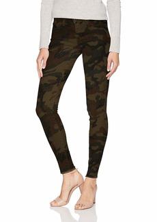 Jessica Simpson Women's Kiss Me Skinny Jeans Forager's camo Print/Fray Hem