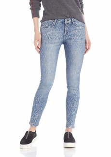 Jessica Simpson Women's Kiss Me Skinny Jeans Starla/Brocade foil