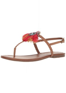 Jessica Simpson Women's Kyran Flat Sandal  6 Medium US