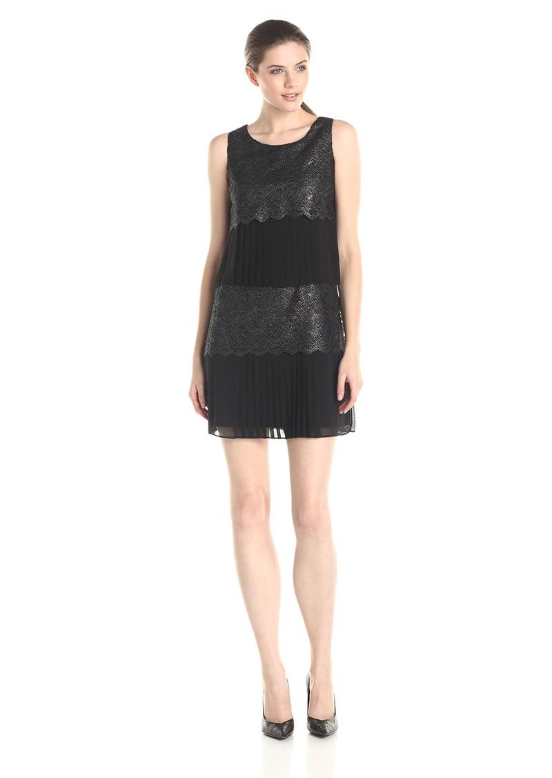 Jessica Simpson Women's Lace and Chiffon Dress