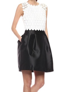 Jessica Simpson Women's Lace and Satin Twill Party Dress