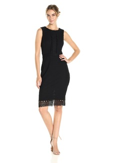 Jessica Simpson Women's Lace Knit Midi Dress