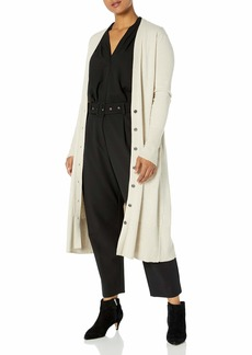 Jessica Simpson Women's Laela Cardigan Sweater Duster with Pockets