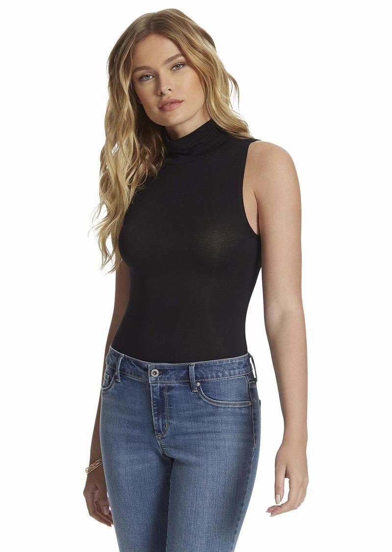 Jessica Simpson Women's Lela Mock Turtleneck Bodysuit Top