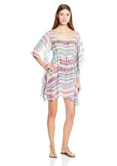 Jessica Simpson Women's Limelight Chiffon Cover-Up Dress