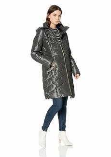 Jessica Simpson Women's Long Fashion Puffer Jacket  XL