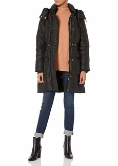 Jessica Simpson Women's Long Puffer Jacket  L