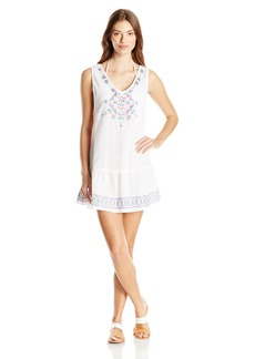 Jessica Simpson Women's Love Me Knot Gauze Cover-Up Dress