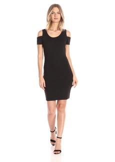 Jessica Simpson Women's Mara Cold Shoulder Dress  X Small