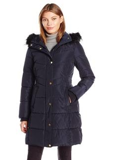 Jessica Simpson Women's Maxi Puffer Coat  L