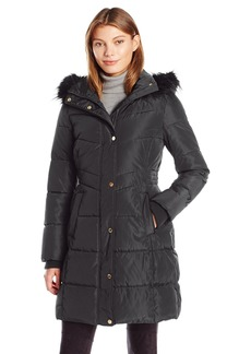 Jessica Simpson Women's Maxi Puffer Coat  S