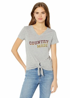 Jessica Simpson Women's Maya Short Sleeve Graphic Tee Shirt  XLarge