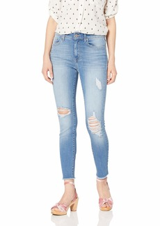 Jessica Simpson Women's Misses Adored Curvy High Rise Ankle Skinny Jean
