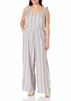 Jessica Simpson Women's Misses Martina Sweetheart Neck Jumpsuit  XSmall
