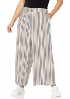 Jessica Simpson Women's Plus Size Saydee Stylish Pull On Wide Leg Pant