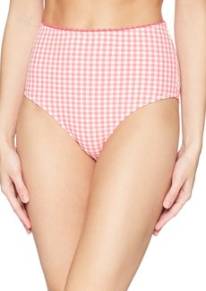 Jessica Simpson Women's Mix & Match Gingham Swimsuit Separates (Top & Bottom)  S