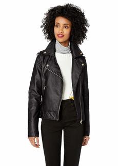 Jessica Simpson Women's Moto Jacket  S