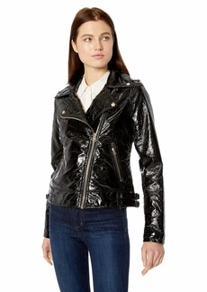 Jessica Simpson Women's Moto Jacket  XL
