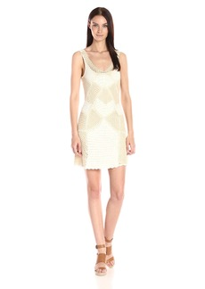 Jessica Simpson Women's Muse Crochet Dress