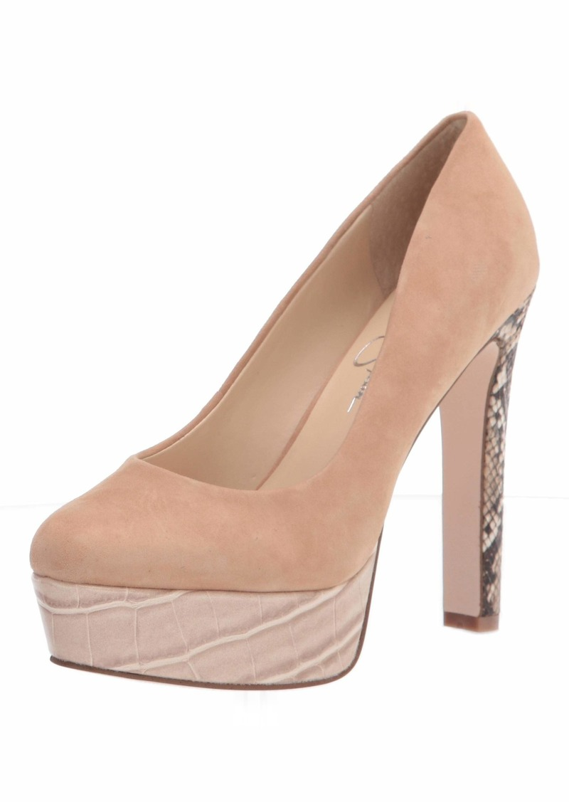 Jessica Simpson Women's Nellah Pump   US medium
