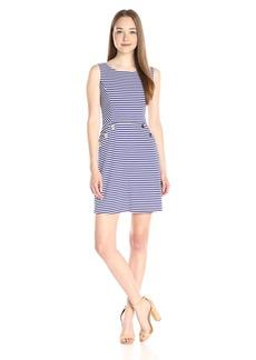 Jessica Simpson Women's Ottoman Stripe Knit Dress