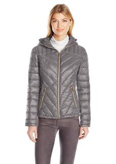 Jessica Simpson Women's Packable Puffer Coat  L