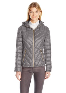 Jessica Simpson Women's Packable Puffer Coat  M