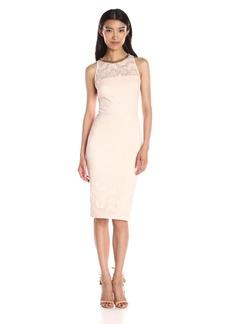 Jessica Simpson Women's Paisley Lace Midi Dress