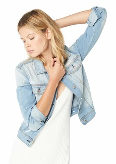 Jessica Simpson Women's Peony Relaxed Denim Jacket