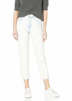 Jessica Simpson Women's Pick Me Up Slim Straight Crop Jean