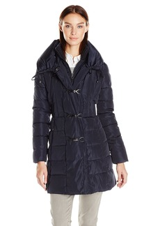 Jessica Simpson Women's Pillow Collar Puffer Coat  M