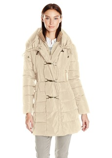 Jessica Simpson Women's Pillow Collar Puffer Coat  M