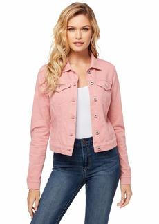 Jessica Simpson Women's Pixie Classic Feminine Fit Crop Jean Jacket 30091719-4YG