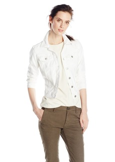 Jessica Simpson Women's Pixie Denim Jacket White