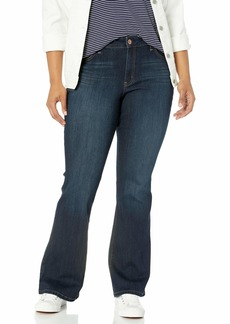 Jessica Simpson Women's Plus Size Adored High Rise Flare Jean  W