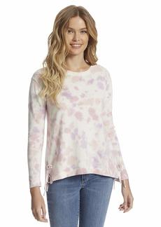 Jessica Simpson Women's Amara Side Split String Sweater