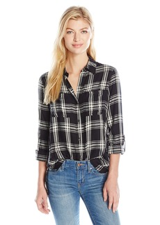 Jessica Simpson Women's Plus-Size Dion Shirt  L