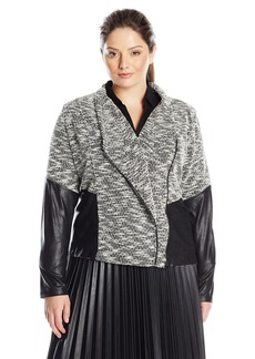 Jessica Simpson Women's Plus-Size Fiona Lightweight Jacket