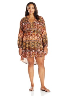 Jessica Simpson Women's Plus Size Jaelyn Dress  1X