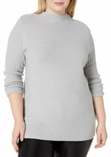 Jessica Simpson Women's Maeve Chic Mock Neck Long Sweater