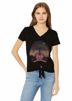 Jessica Simpson Women's Plus Size Maya Short Sleeve Graphic Tee Shirt