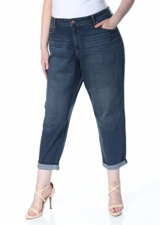 Jessica Simpson Women's Plus Size Mika Best Friend Relaxed Fit Jean  W