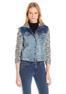 Jessica Simpson Women's Plus-Size Pixie Jacket Withhood  M