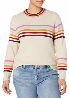 Jessica Simpson Women's Rai Stripe Pullover Sweater