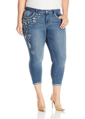 Jessica Simpson Women's Plus Size The Forever Skinny Jean Moss