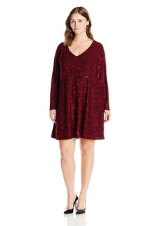 Jessica Simpson Women's Plus Size Vera Dress