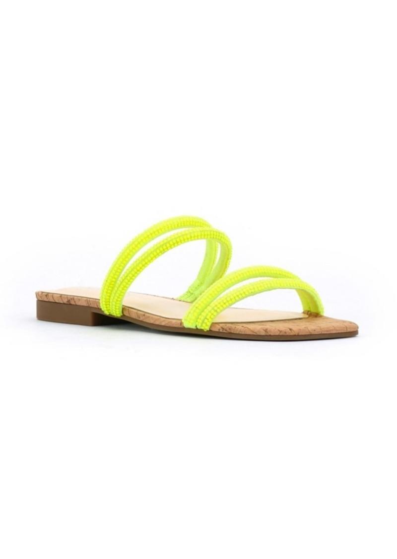 Jessica Simpson Women's Raexe Slip-On Strappy Slide Sandals Women's Shoes