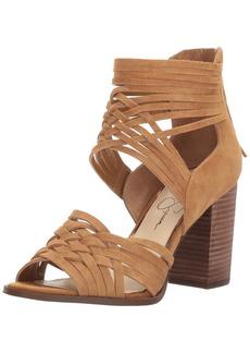 Jessica Simpson Women's Reilynn Heeled Sandal  9.5 Medium US