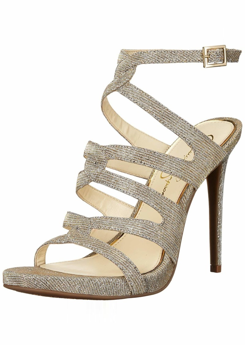 Jessica Simpson Women's REYSE Heeled Sandal   Medium US