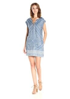 Jessica Simpson Women's Samantha Denim Dress  X Small